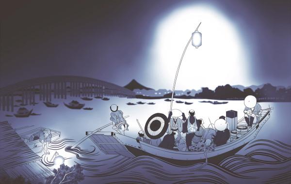 公演『暗闇の音のキオク×富山清琴[人間国宝 地歌・三絃]』フライヤー